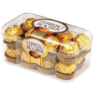Ferrero Rocher, 200 g, candy