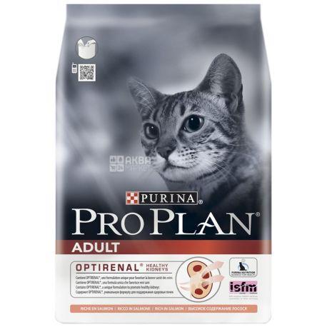 Pro Plan, 1,5 кг, корм для котов, Adult, Salmon