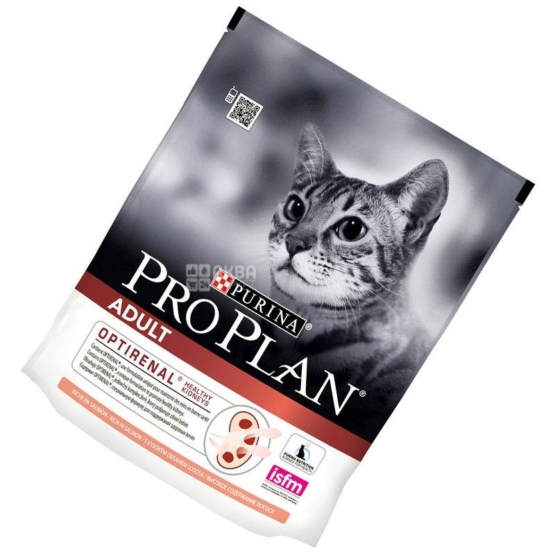Pro Plan, 400 г, корм для котов, Adult, Salmon