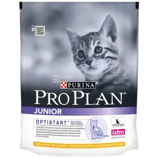 Pro Plan, 400 g, food for kittens, Junior, Chicken