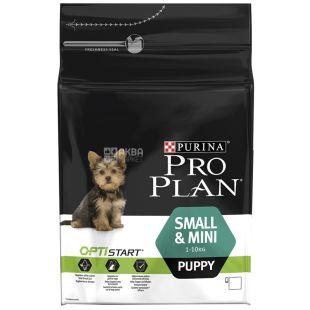 Pro Plan, 3 кг, корм для щенков малых пород, Puppy, Chicken