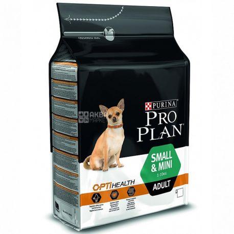 Pro Plan, 3 кг, корм для собак малих порід, Adult, Chicken