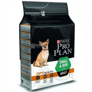 Pro Plan, 3 kg, Food for Small Dogs, Adult, Chicken