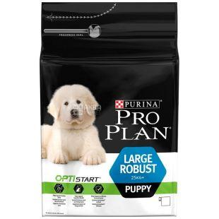 Pro Plan, 3 кг, корм для щенков больших пород, Puppy, Chicken