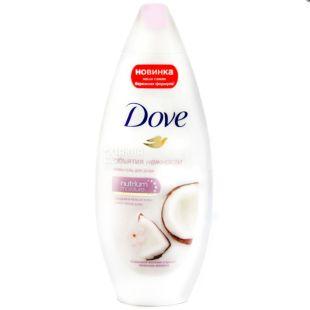 Dove, 250 мл, крем-гель для душа, Кокосовое молочко и лепестки жасмина
