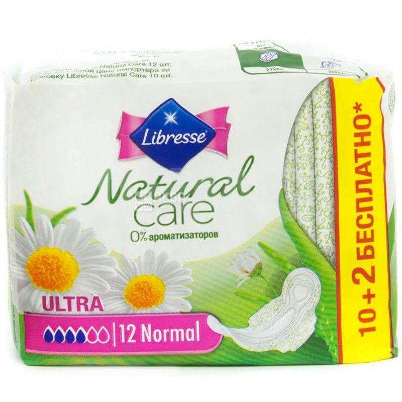 Libresse, 10 шт., прокладки гігієнічні, Ultra Normal Soft