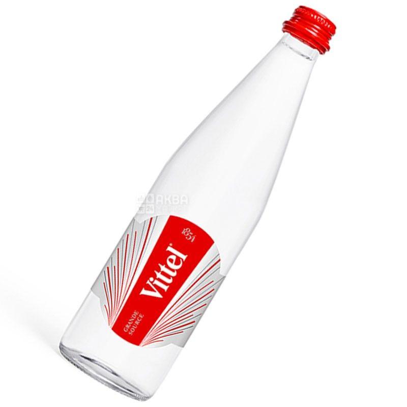 Vittel, Вода мінеральна негазована, 0,5 л, скло, скло
