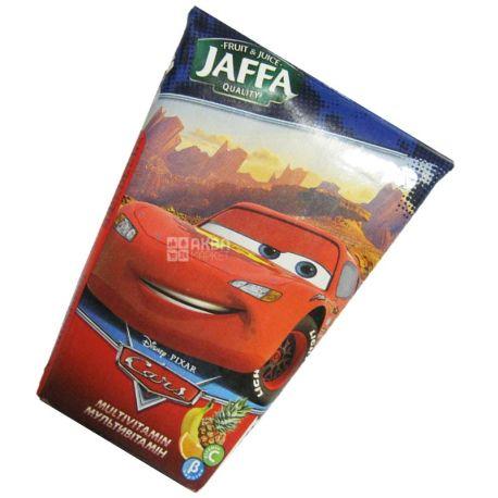 Jaffa, Disney Cars, Мультивитамин, 0,125 л, Джаффа, Дисней Тачки, Нектар натуральный, детям от 3-х лет