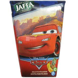 Jaffa, 0,125 л, нектар, Мультивитамин, Cars
