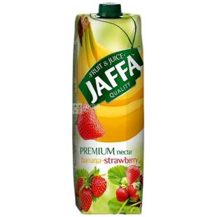 Jaffa, 1 л, нектар, Банан-полуниця