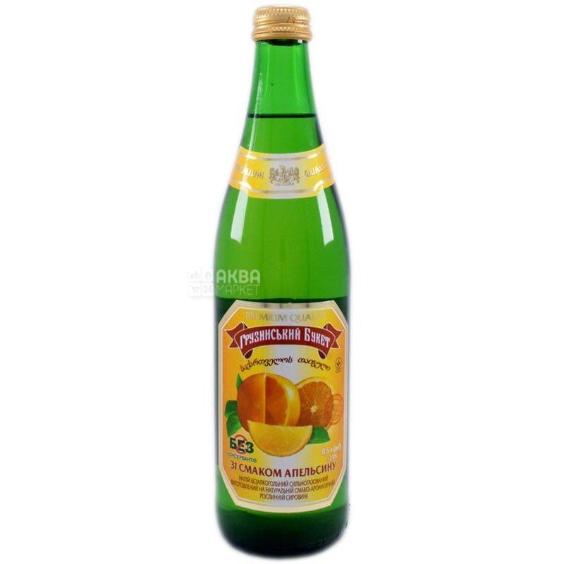 Грузинский Букет, 0,5 л, лимонад, Апельсин, стекло
