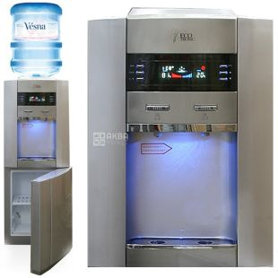 Ecotronic G2-LFPM Silver, outdoor water cooler