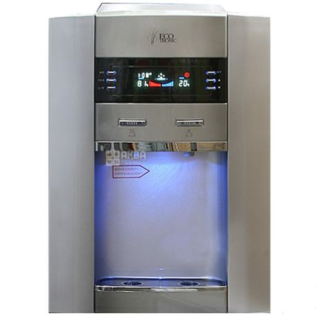 Ecotronic G2-LFPM Silver, кулер для воды напольный