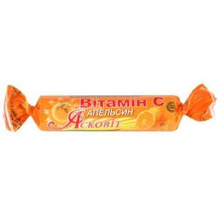 Асковіт, 1000 мг, вітамін С, Апельсин, м/у