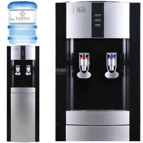 Ecotronic H1-L Black, кулер для воды напольный
