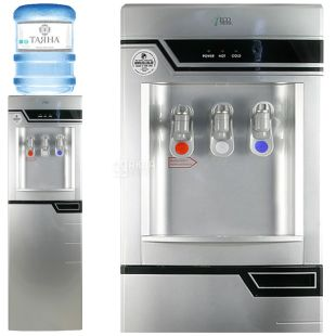 Ecotronic G5-LFPM Silver, outdoor water cooler