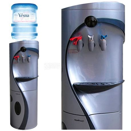 Ecotronic G4-LM Silver, кулер для воды напольный