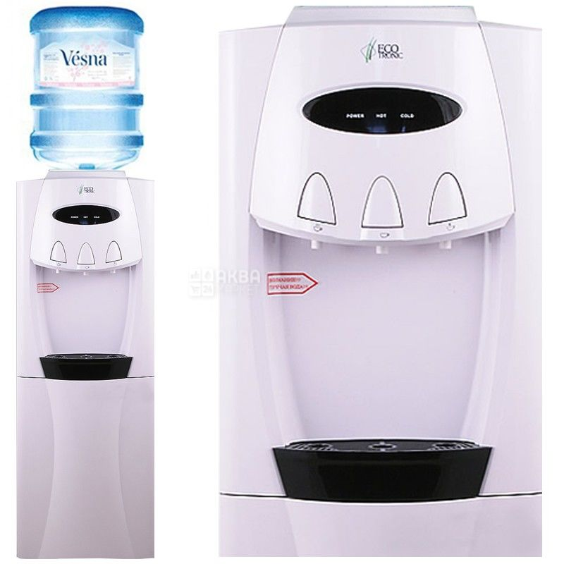 Ecotronic G30-LCE White, кулер для воды напольный