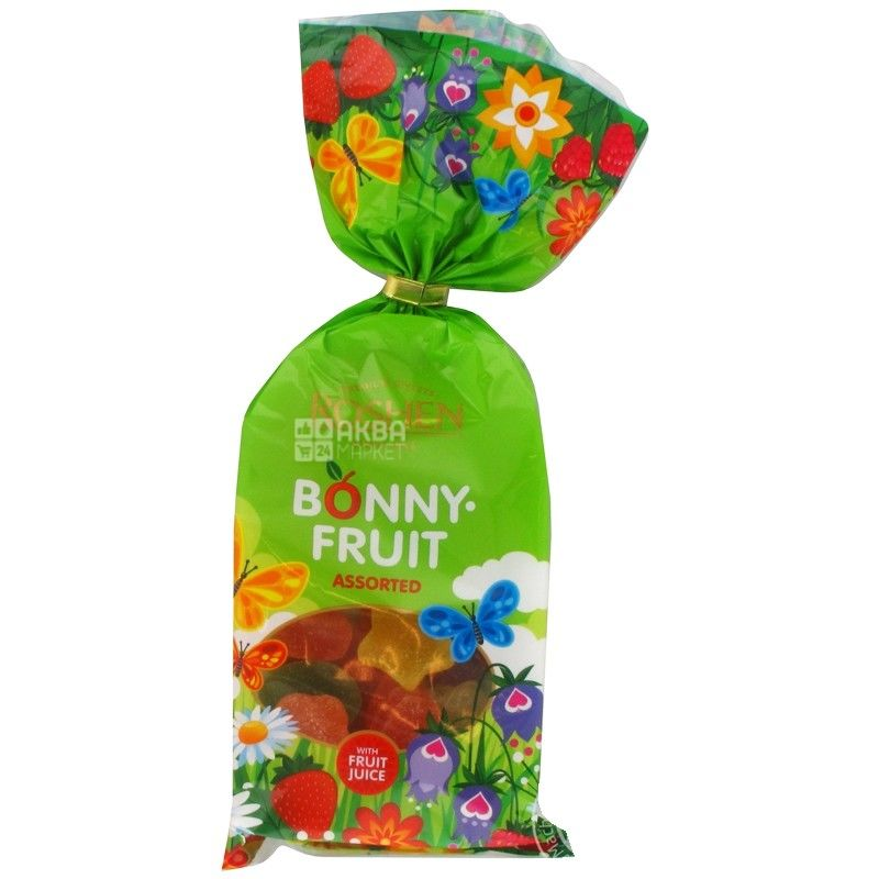 Roshen, 250 г, желейные конфеты, Bonny fruit