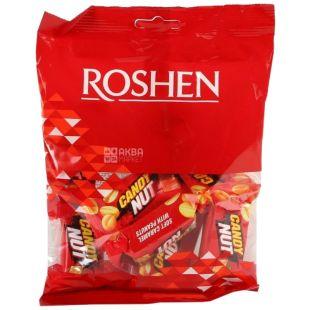 Roshen, 160г, конфеты, Candy nut, нуга с арахисом