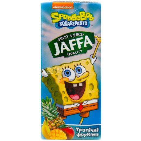 Jaffa, Sponge Bob, Мультифрукт, 0,2 л, Джаффа, Губка Боб, Нектар натуральний, дітям від 3-х років