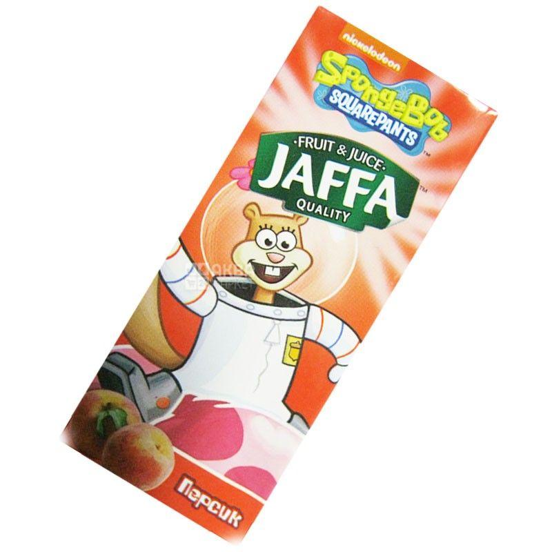 Jaffa, Sponge Bob, Персик, 0,2 л, Джаффа, Губка Боб, Нектар натуральний, дітям від 3-х років