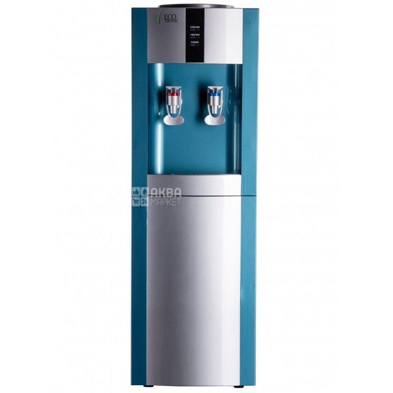 Ecotronic H1-L Silver, кулер для води підлоговий