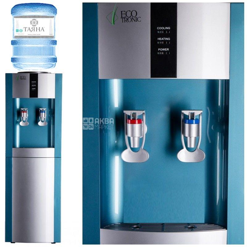 Ecotronic H1-L Silver, кулер для воды напольный