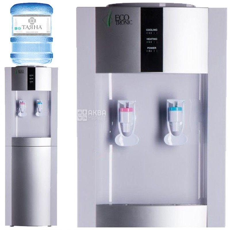 Ecotronic H1-L White, Кулер для воды с компрессорным охлаждением, напольный