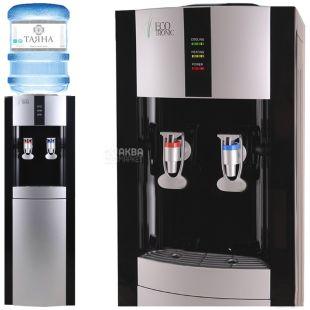 Ecotronic H1-LC Black, кулер для воды напольный