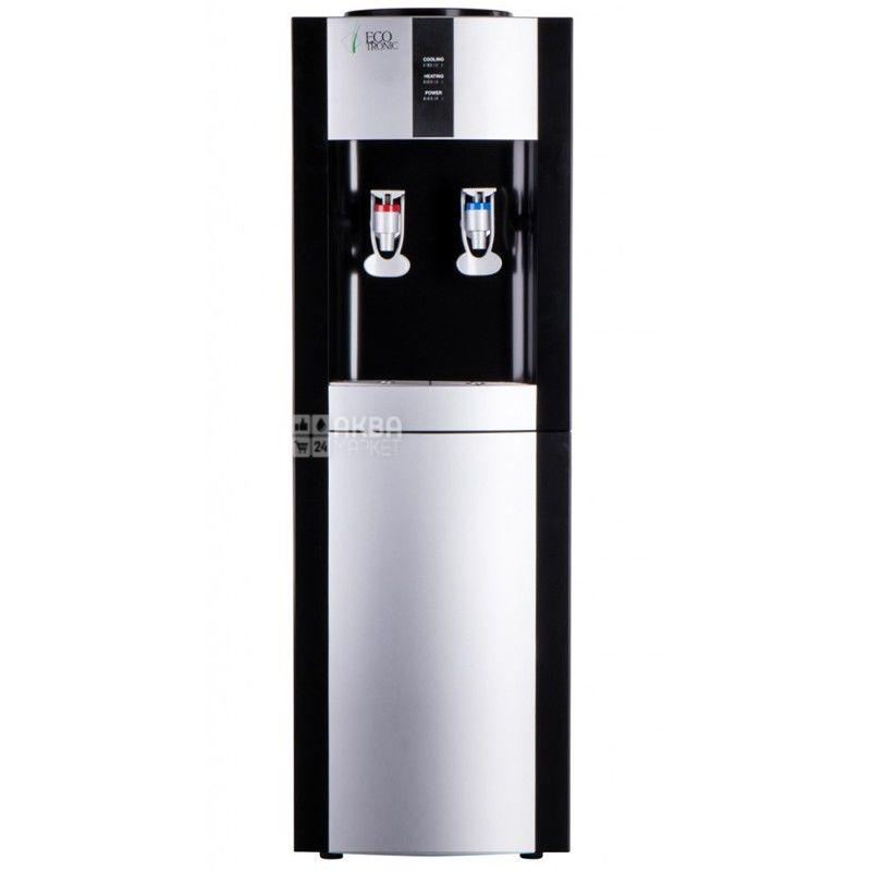 Ecotronic H1-LC Black, кулер для води підлоговий