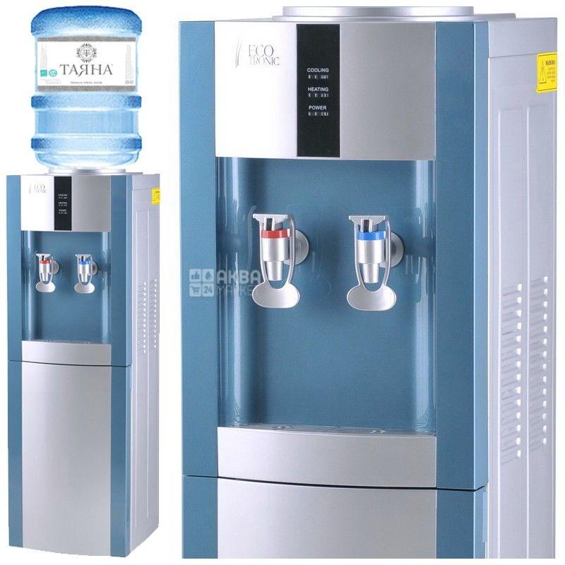 Ecotronic H1-LN Silver, Кулер для води без охолодження, підлоговий
