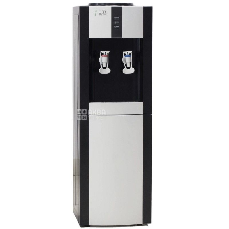 Ecotronic H1-LN Black, Кулер для води без охолодження, підлоговий