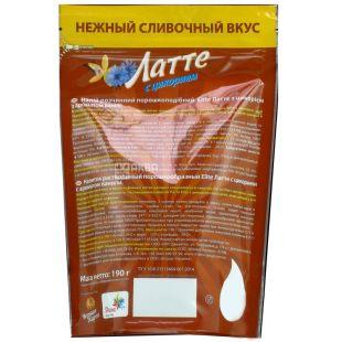 Elite, 190 г, напиток растворимый, Латте с цикорием и ароматом ванили