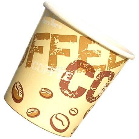 Coffee Coffee Стакан бумажный с рисунком 110 мл, 50 шт, D60