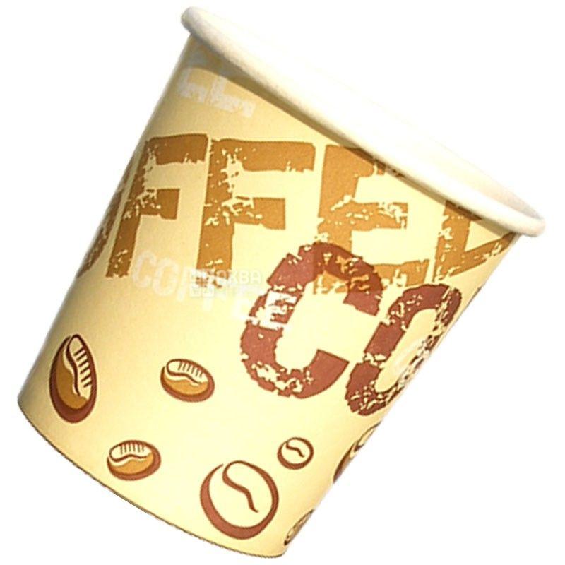 Coffee Coffee Стакан бумажный с рисунком 250 мл, 50 шт, D77