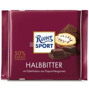 Ritter Sport, 100 g, dark chocolate, Dark Chocolate