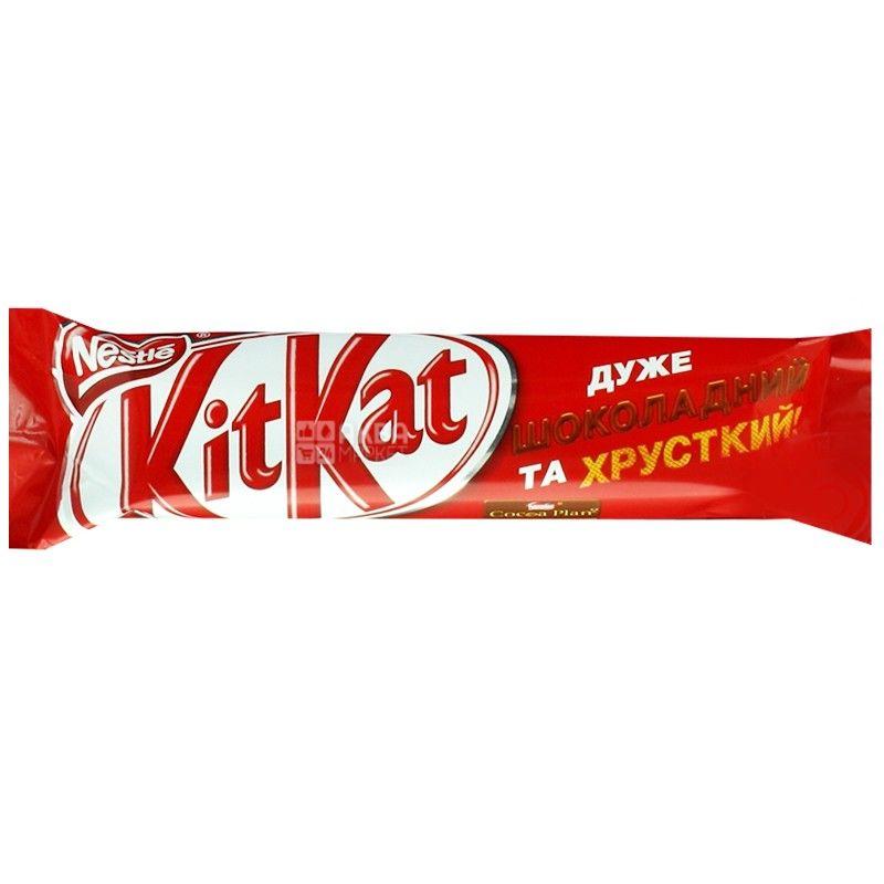KitKat, 40 г, шоколадный батончик