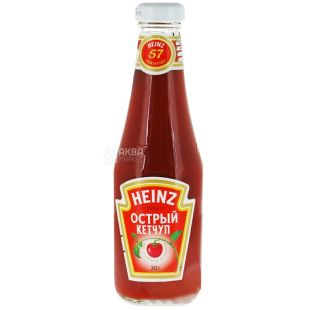 Heinz, 342 мл, кетчуп, гострий, скло