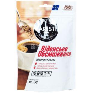 Baristi, 60 г, кава, натуральна, розчинна, Віденське обсмаження