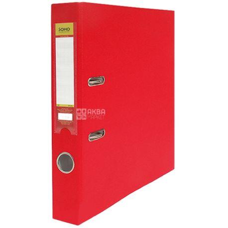 SOHO, 5 cm, binder, Red, A4, m / s