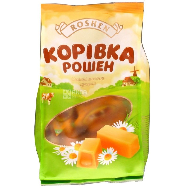 Roshen, 300 г, конфеты, Коровка
