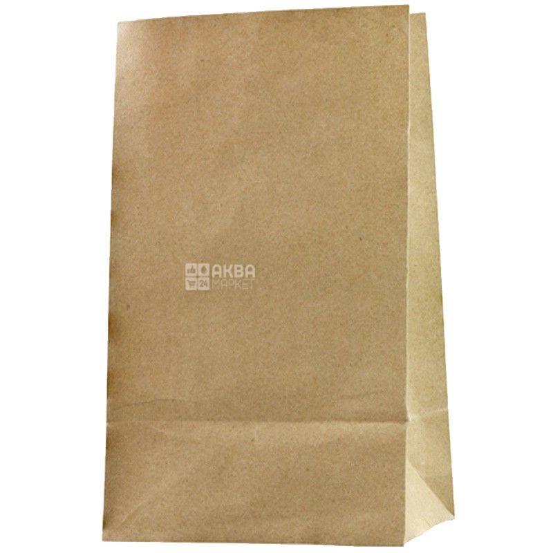 Промтус, 120x85x250 мм, паперовий пакет, Без ручок, Коричневий, м/у