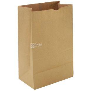 Промтус, 170x120x280 мм, паперовий пакет, Без ручок, Коричневий, м/у
