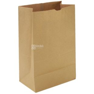Promtus, 170x120x280 mm, paper package, no handles, brown, m / s