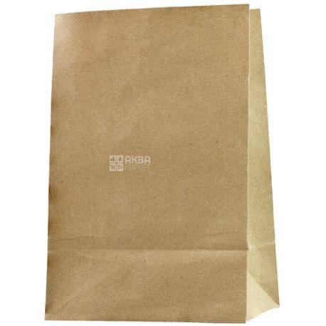 Промтус, Пакет паперовий, Без ручок, крафт, 210x115x280 мм