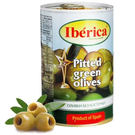Iberica, 420 г, оливки, без кісточок