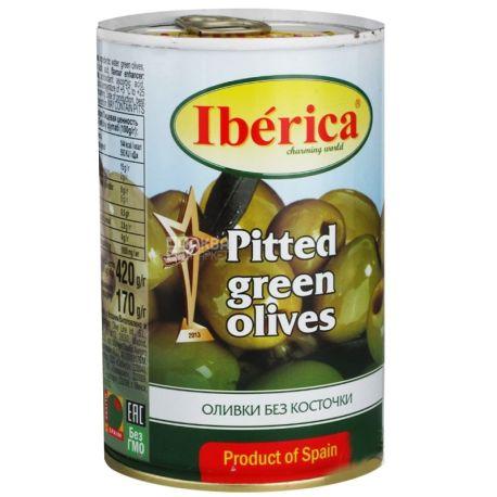 Iberica, 420 г, оливки, без косточек