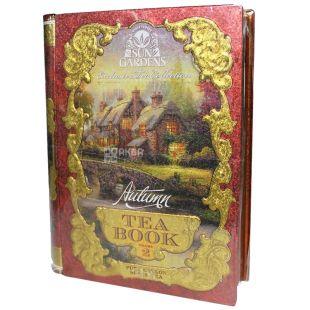 Sun Gardens, Tea Book Autumn, Volume 2, 100 г, Чай Сан Гарденс, Книга Осень, Том 2, черный, среднелистовой