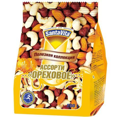 SantaVita Полезная коллекция Ореховое ассорти, 200 г